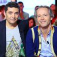 """Exclusif - Thierry Moreau et Jean Michel Maire sur le plateau de """"Touche pas à mon poste"""" à Paris, le 10 octobre 2013."""