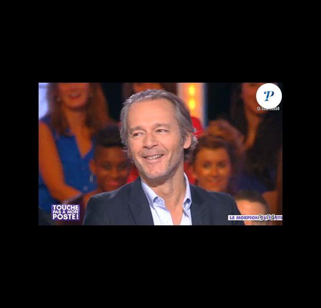 Jean-Michel Maire révèle qu'il n'est plus célibataire sur le plateau de Touche pas à mons poste, le 7 novembre 2013.