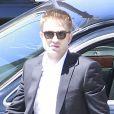 Robert Pattinson sur le tournage de son nouveau film à Los Angeles, le 17 août 2013.