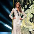 Miss Venezuela Gabriela Isler, élue Miss Univers 2013 à Moscou. Le 9 novembre 2013.