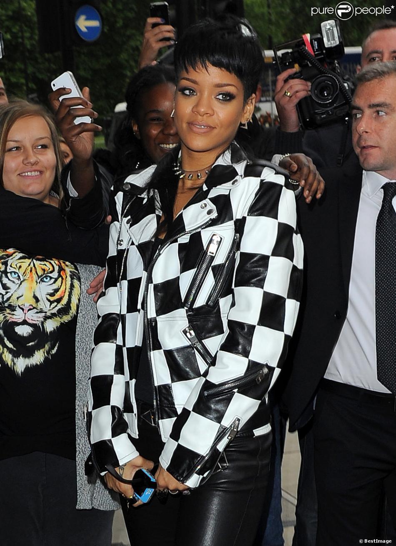 Rihanna à Londres le 11 septembre 2013