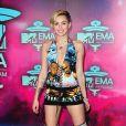 Miley Cyrus lors des MTV European Music Awards au Ziggo Dome à Amsterdam, le 10 novembre 2013.