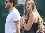 Emile Hirsch papa : Première sortie avec son adorable bébé et la maman