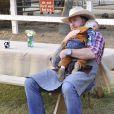 Dean McDermott fête le premier anniversaire de son fils Finn et les deux ans de sa fille Hattie à Underwood Farms. Los Angeles, le 8 novembre 2013.