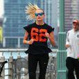Exclusif - Natasha Poly fait son jogging à New York le 2 novembre 2013. E