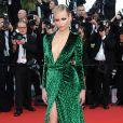 Natasha Poly en mai 2012 splendide en robe Gucci à Cannes