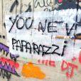 Justin Bieber est accusé davoir fait des graffitis sur ce mur à Rio de Janeiro au Brésil, sans autorisation, le 5 novembre 2013.