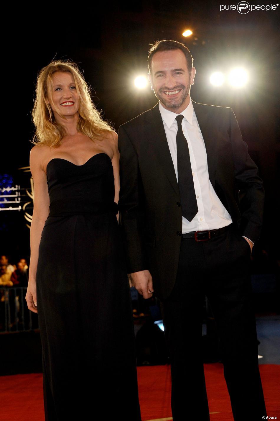 Alexandra lamy et jean dujardin lors du festival du film for Lamy dujardin