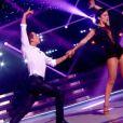 Alizée et Grégoire lors du marathon de la danse, dans Danse avec les stars 4, le 16 novembre 2013 sur TF1.