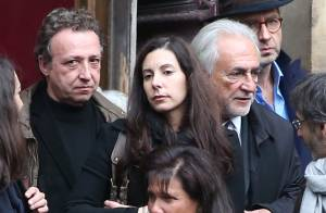 Obsèques de Brigitte Guillemette : DSK et Anne Sinclair réunis dans la peine