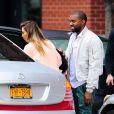 Kim Kardashian et Kanye West à New York, le 17 novembre 2013.