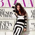 Kendall Jenner en couverture du magazine Harper's Bazaar Arabia. Avril 2013.