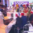 Ambiance brésilienne sur le plateau de l'émission  Touche pas à mon poste  du mercredi 20 novembre 2013 sur D8.