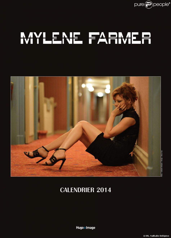 Le calendrier 2014 de Mylène Farmer, tiré de sa tournée Timeless 2013, sortira le 28 novembre 2013.