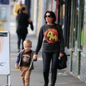 Dannii Minogue et son fils, un duo rare : Le craquant Ethan a bien grandi !