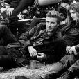 David Beckham, star de la campagne publicitaire printemps-été 2014 de Belstaff. Photo par Peter Lindbergh.