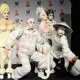 Le Cirque du Soleil aux Latin Grammy Awards à Las Vegas, le 21 novembre 2013.