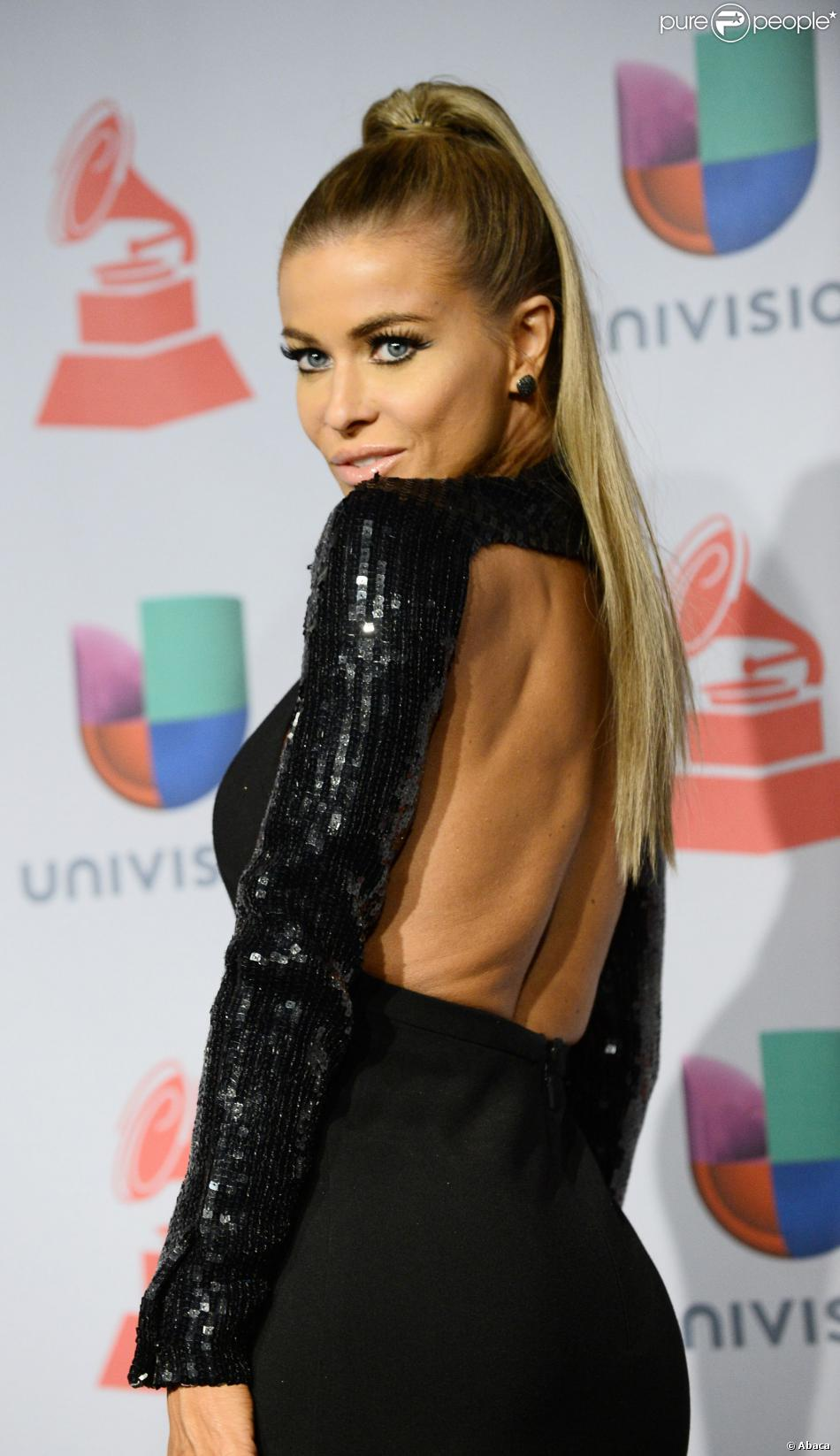 Carmen Electra aux Latin Grammy Awards à Las Vegas, le 21 novembre 2013.
