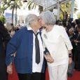 Georges Lautner et sa compagne au Festival de Cannes en mai 2012