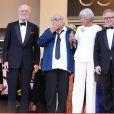 Georges Lautner au Festival de Cannes en mai 2012
