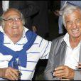 Georges Lautner avec Jean-Paul Belmondo en 2010
