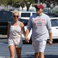 Britney Spears et son petit ami David Lucado vont faire leurs courses à Fillmore, le 4 juillet 2013.