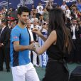 Novak Djokovic à Buenos Aires, le 23 novembre 2013.