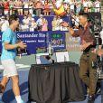 Will Smith avec Novak Djokovic et Rafael Nadal à Buenos Aires, le 24 novembre 2013.