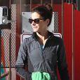 Sandra Bullock radieuse à Studio City, Los Angeles, le 26 novembre 2013.