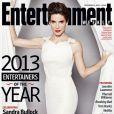 Sandra Bullock en couverture d'Entertainment Weekly.