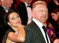 Boris Becker : Heureux avec sa belle et son nouveau look devant Dita von Teese