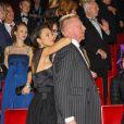 """Boris Becker et sa femme Lilly à l'avant-première du """"Fantome de l'Opéra"""" à Hambourg le 28 novembre 2013."""