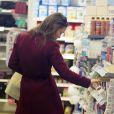Pippa Middleton en plein shopping de Noël le 23 novembre 2013 dans Chelsea