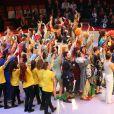 Exclusif - Final du 52e Gala de l'Union des Artistes au Cirque d'hiver à Paris le 19 novembre 2013.