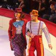 Exclusif - Zazie et Ours - 52e Gala de l'Union des Artistes au Cirque d'hiver à Paris le 19 novembre 2013.