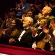 Exclusif - Jean-Paul Belmondo au premier rang - 52e Gala de l'Union des Artistes au Cirque d'Hiver à Paris, le 19 novembre 2013. Le gala sera diffusé sur France 2 le jeudi 2 janvier à 20H45.