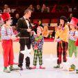 Exclusif - Stella Belmondo (à droite avec le pantalon vert) - 52e Gala de l'Union des Artistes au Cirque d'Hiver à Paris, le 19 novembre 2013. Le gala sera diffusé sur France 2 le jeudi 2 janvier à 20H45.