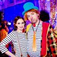 Exclusif - Prix Special - Melanie Bernier et Atmen Kelif - Backstage du gala de l'Union des Artistes au Cirque d'Hiver a Paris. Le 19 novembre 2013  No Web pour Belgique et Suisse19/11/2013 - Paris