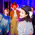 Exclusif - Prix Special - Elodie Frege, Arie Elmaleh et Sabrina Ouazani - Backstage du gala de l'Union des Artistes au Cirque d'Hiver a Paris. Le 19 novembre 2013  No Web pour Belgique et Suisse19/11/2013 - Paris