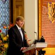 Le roi Willem-Alexander, la reine Maxima et la princesse Beatrix prenaient part le 30 novembre à une cérémonie dans la salle des chevaliers du Binnenhof pour le bicentenaire du royaume des Pays-Bas.