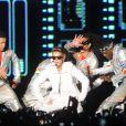 Justin Bieber en concert à Rio de Janeiro, au Brésil, le 2 novembre 2013.