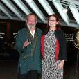 Terry Gilliam et sa femme Maggie lors du Festival de Marrakech et la projection du film Le Théorème Zero le 2 décembre 2013