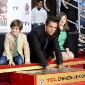 Ben Stiller : Honoré avec ses enfants, enlacé par un Tom Cruise admiratif