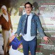 Johnny Knoxville lors de la première du film Bad Grandpa au cinéma Gaumont Capucines à Paris, le 3 décembre 2013.
