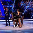 """Norbert Tarayre chute en direct dans """"Ice Show"""" (M6), mardi 4 décembre 2013."""