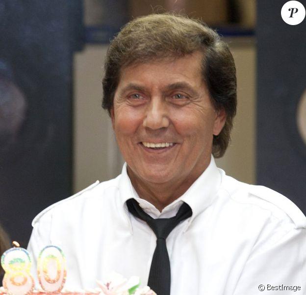 Frank Michael fête les 80 ans de Geneviève de Fontenay à Paris ce 29 août 2012.