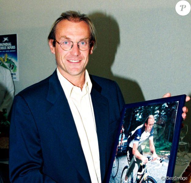 Laurent Fignon à Paris le 29 septembre 1995