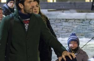 Gianluigi Buffon et sa belle Alena : Week-end avec les enfants malgré la rumeur