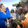 Première dégustation pour la reine Maxima des Pays-Bas en Ethiopie, arrivée le 9 décembre 2013 pour une visite officielle en sa qualité d'ambassadrice spéciale des Nations-unies pour la microfinance en faveur du microdéveloppement.