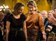 Mathilde et Claire de Belgique rivalisent d'élégance au concert de Noël